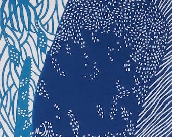 Sperm Whale Tenugui Towel - kata kata
