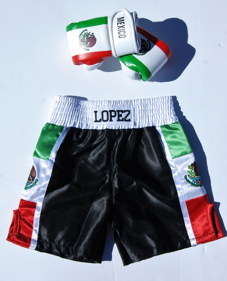 Baby boxing trunks   Personalized baby trunks TRUNKS ONLY
