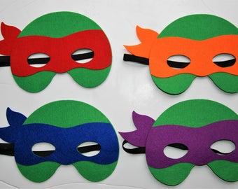 Inspired Ninja Turtle  Masks