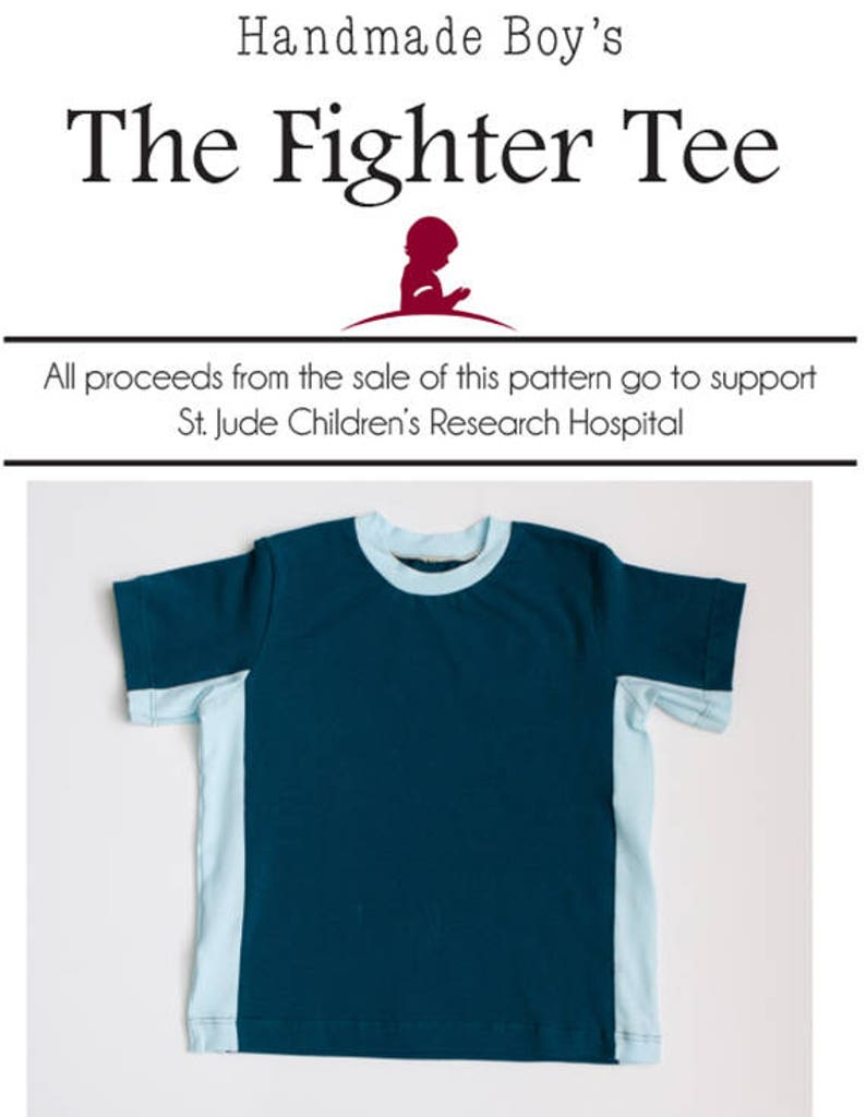 Handmade Boy's The Fighter Tee image 0