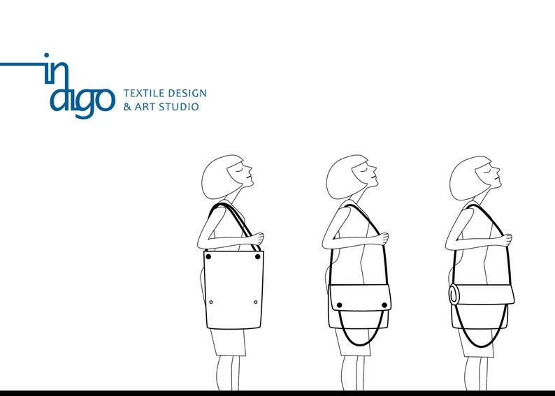 NUDE RAJA multifunctional bag for ladies classic handbag convertible to tote bag minimalist compact handbag waterproof shoulder bag