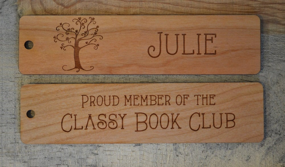 Custom Bookmarks Great Personalized Gifts Or Favors For Weddings
