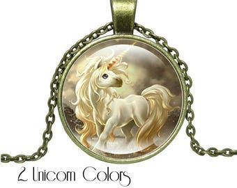 Bronze Unicorn Necklace, Unicorn Gifts, Gift For Girls, Mystical Jewelry, Unicorn Lover, Magical Unicorn, Gift for Women, Best Gifts
