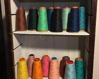 Vintage Cone Threads/display/gift/DIY