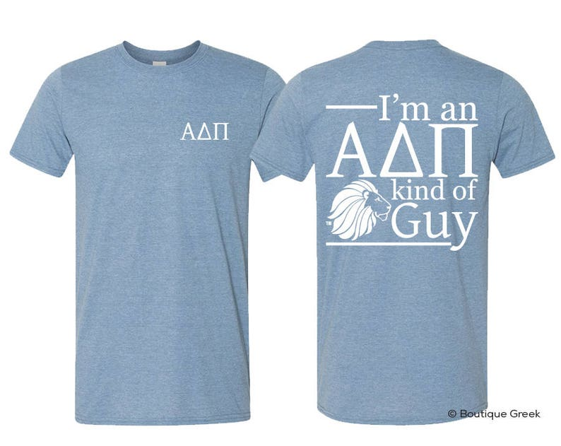 0a72c75c681e0 ADPi Alpha Delta Pi Kind Of Guy Tee