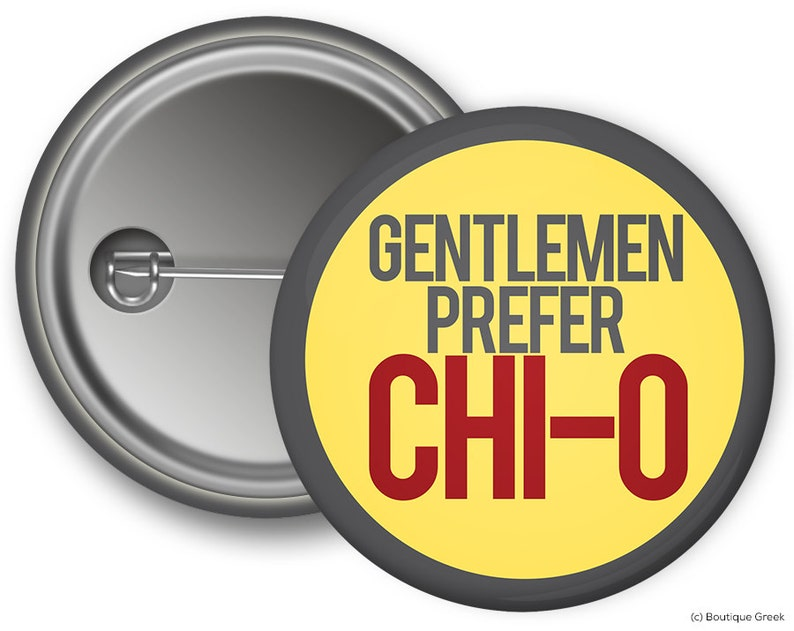 dc402cb0fd867d ChiO Chi Omega Gentlemen Prefer Chi-O Sorority Greek Button