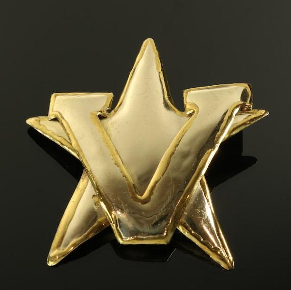 Vanderbilt University Pin Brooch Pendant Star V Sy