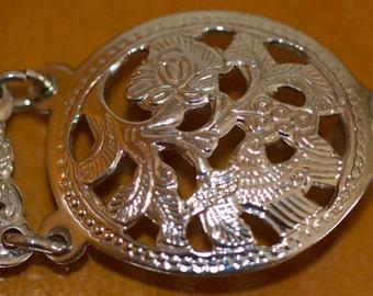 Metal link belt