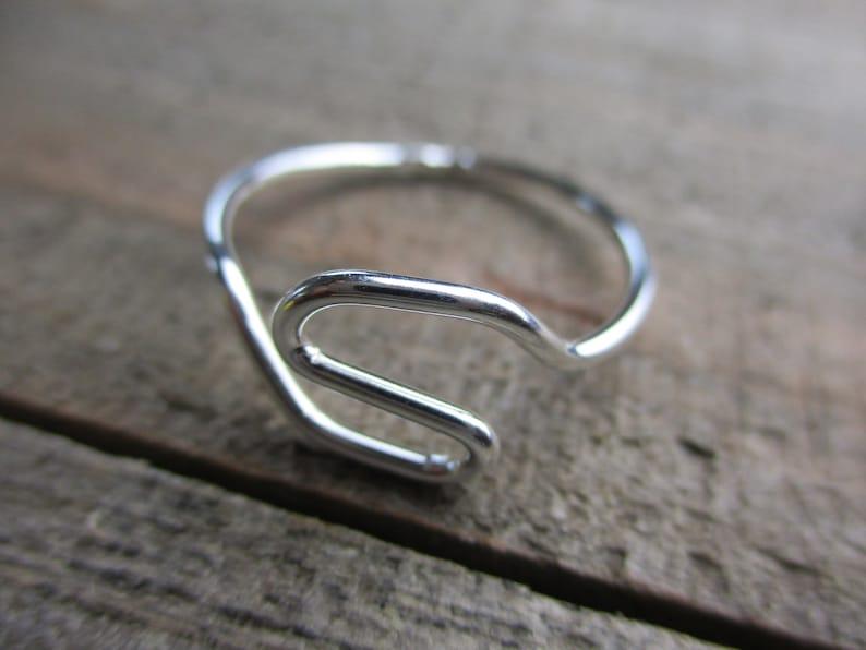 Sterling Silver Size 9.5 Women Handmade Ring Gift