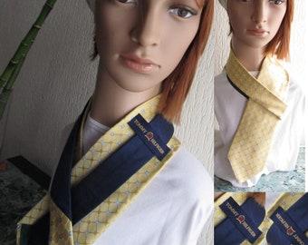 Accessory man Tommy Hilfiger Multicolor Yellow Blue Green 100% Silk Tommy Hilfiger Men's Suit Wedding Ceremony Vintage Wedding Suit