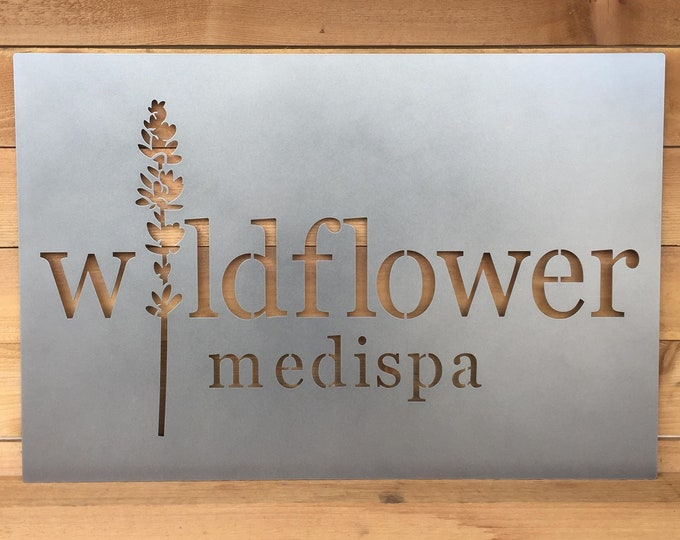 Large Custom Business LOGO Signs | Metal | LASER CUT Signs | Business Signs | Outdoor Metal Signs |Commercial Sign | Custom Graphic sign