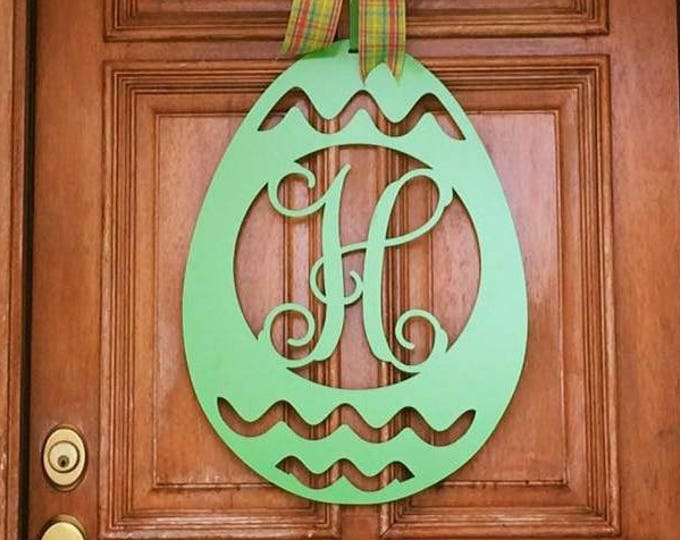 EASTER Door Hanger | EASTER Door Wreath | Front Door Wreath | Spring Door Wreath | Metal Wall Art - Indoor or Outdoor Use