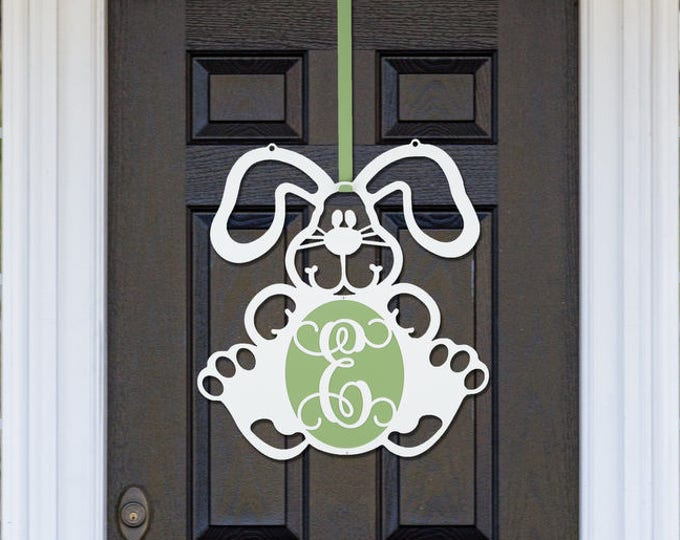 Easter Bunny Door Wreath by HSA