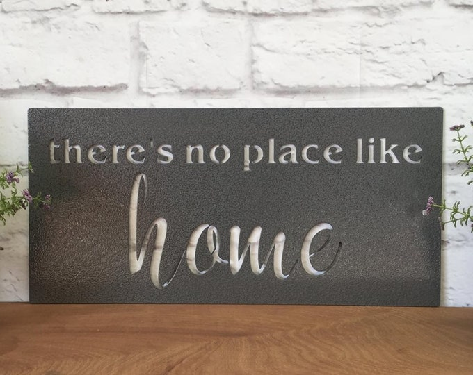There is no place like HOME sign | Realtor Gift | Housewarming Gift | Home Decor | Wall Decor | Modern Farmhouse Decor | Farmhouse Sign
