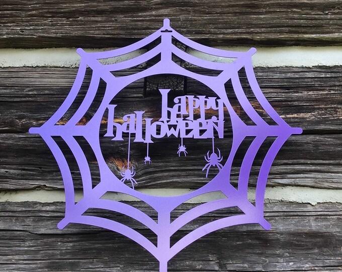 Happy Halloween Door Hanger | Door Decor | Wall Decor | Fall Decorations | October Decorations