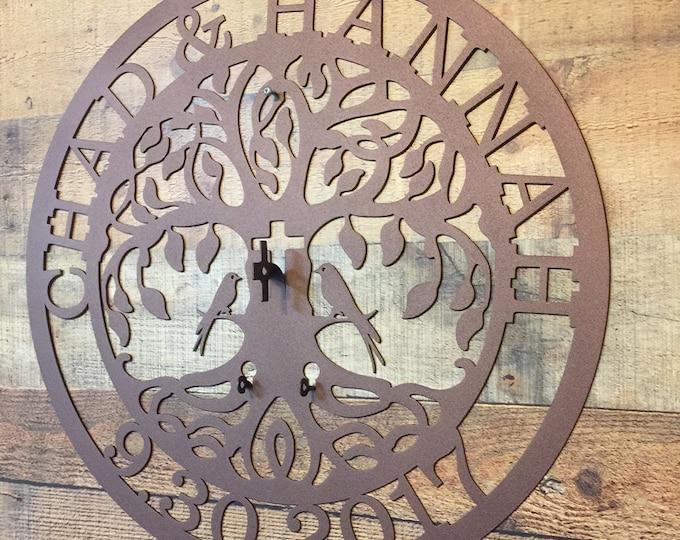 Cross Love Locks Tree, Unity ceremony, Wedding Ceremony, Love Lock Tree of Life  Exclusive copyrighted Design of HSA