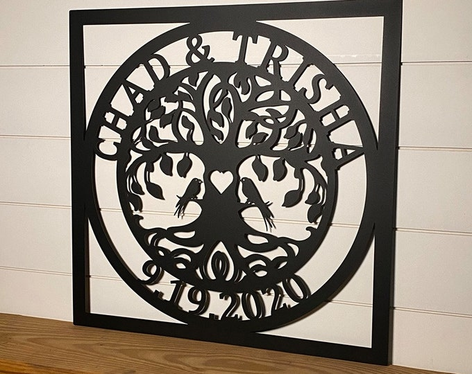 Love Locks Tree V2, Love lock Ceremony, Unity ceremony, Wedding Ceremony, Love Lock Tree of Life  Exclusive copyrighted Design of HSA