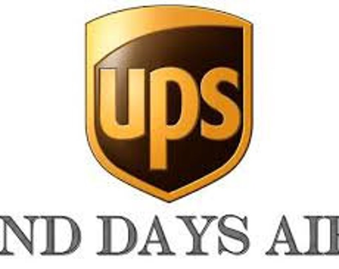 UPGRADE To UPS 2ND DAY Air Shipping  -- Contact us for a quote prior to order
