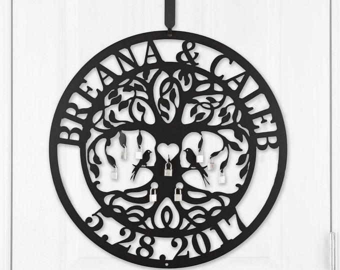 Unity Ceremony Love Locks Tree of Life by HSA