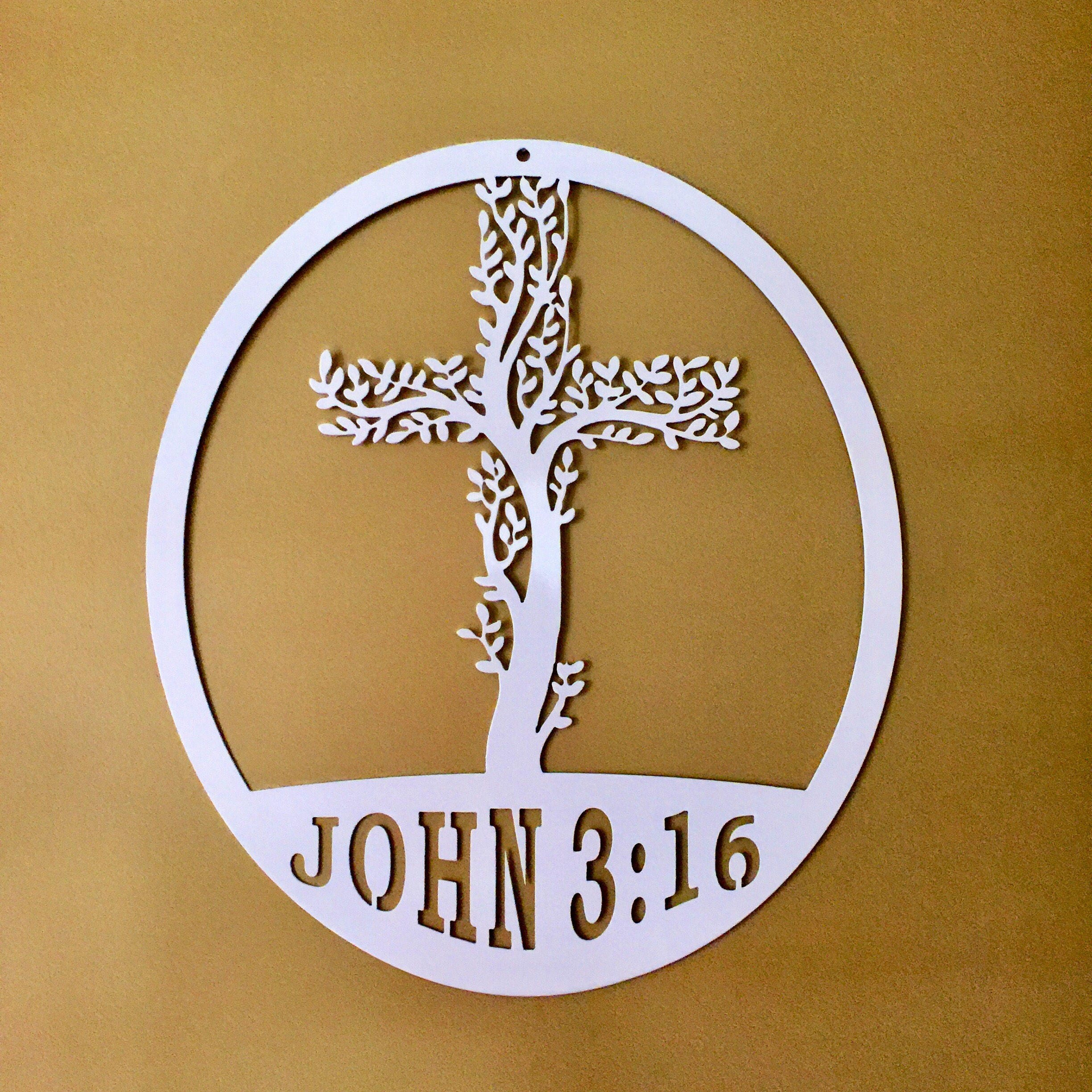 Cross Tree of Life by HSA- Exclusive Design / Metal Wall Cross