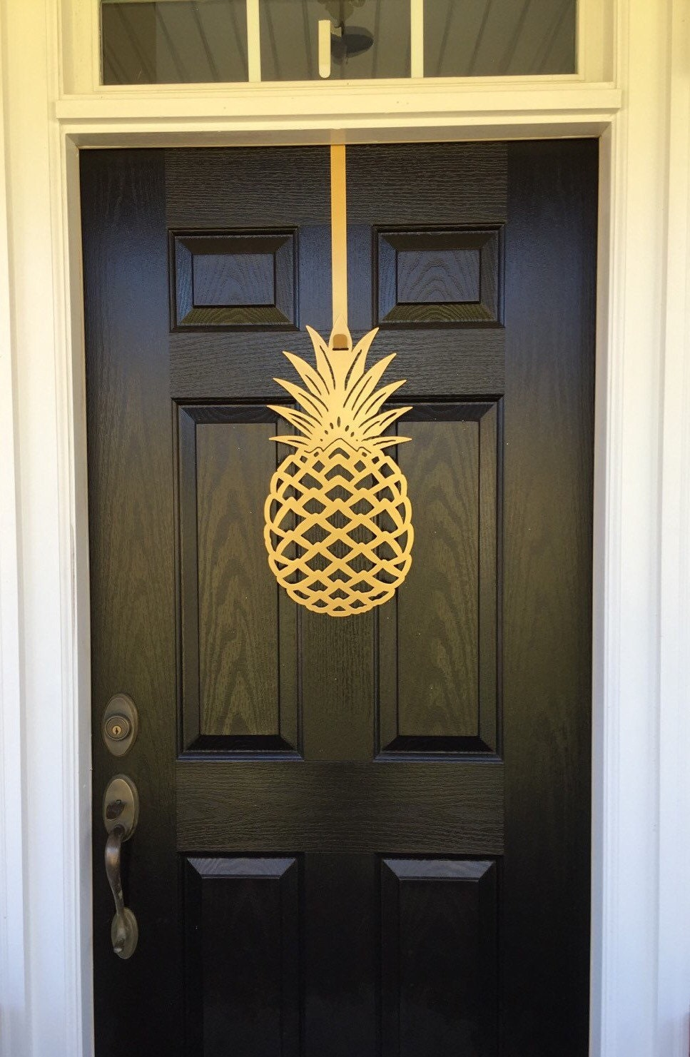 Pineapple Front Door Wreath 2 Sizes To Chose From With