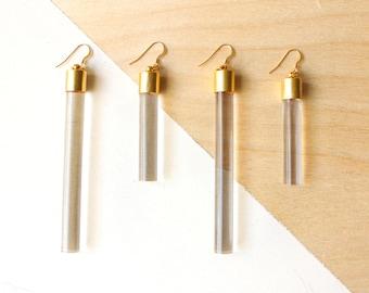 Elegant Earrings, Geometric Earrings, Unique Earrings, Long Earrings, Minimalist Earrings, Drop Earrings, Earrings for Women