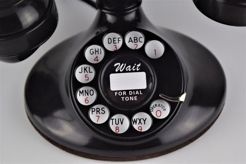 Original Antique Rotary Western Electric Model 202 Telephone E1 Handset