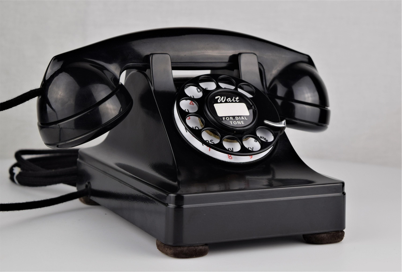 Original Antique Rotary Western Electric Model 302 Telephone