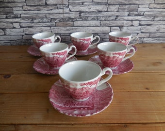 MINT HEREND YELLOW DYNASTY DEMITASSE CUP AND SAUCER 12 SETS AVAILABLE