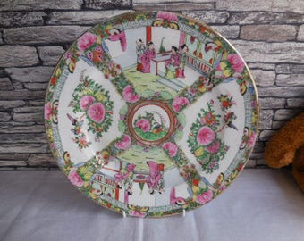 Vintage Chinese deccorative plate
