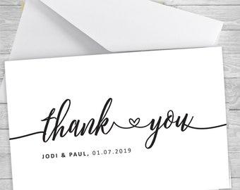 Plié Mariage Remerciement-Pack de 10