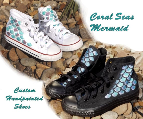 ea4fe598e3c7 Converse Shoes handpainted or unpainted. Painted are with