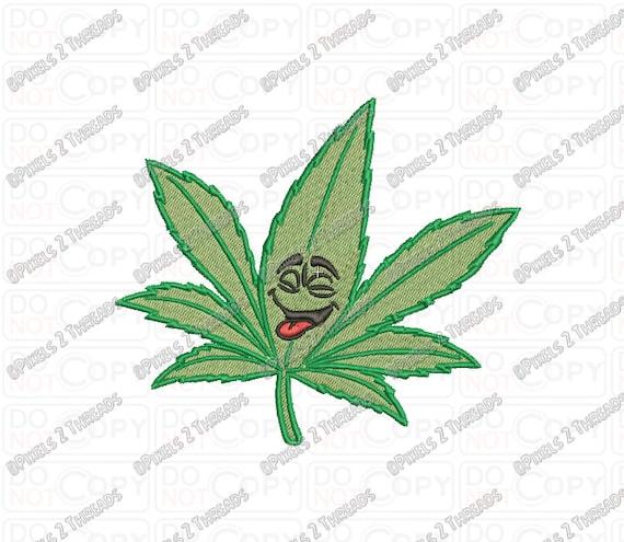 Cannabis Marijuana Portachiavi Pendente Charm Accessorio Borsa Regalo UK