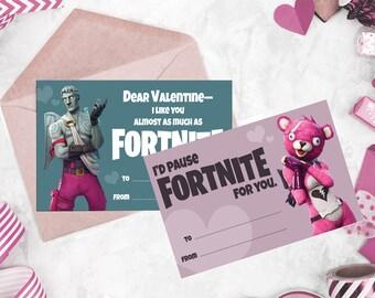 Fortnite Valentine Etsy