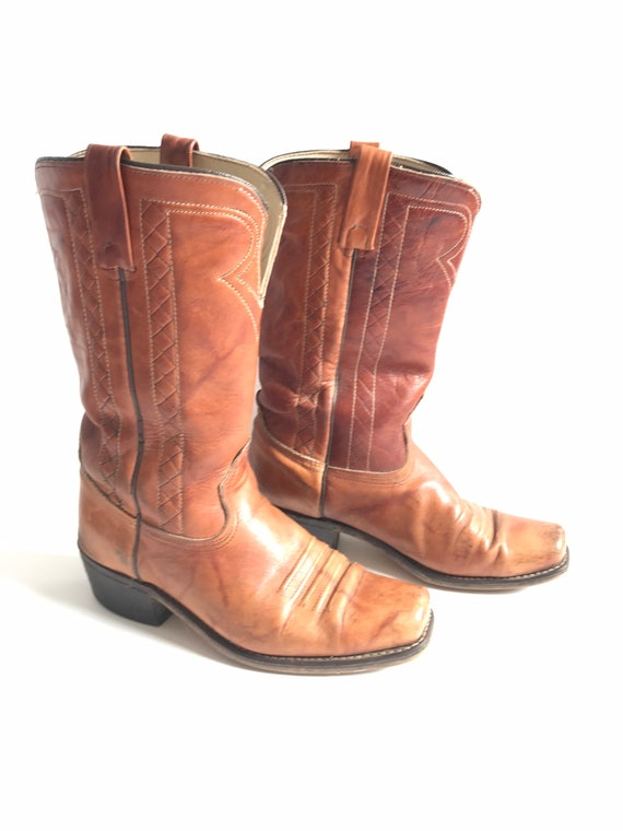 Vintage Acme boots, riding boots, campus boots, co