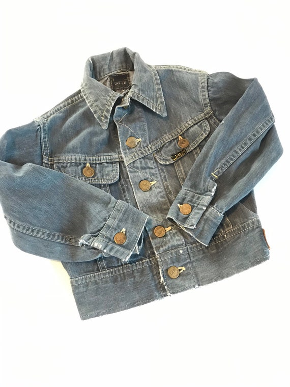 1960's Lee Riders Sanforized denim jacket 109-JB,