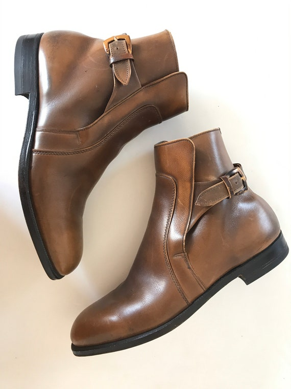 Breather Wright Boots, mens 9.5 D, leather boots,