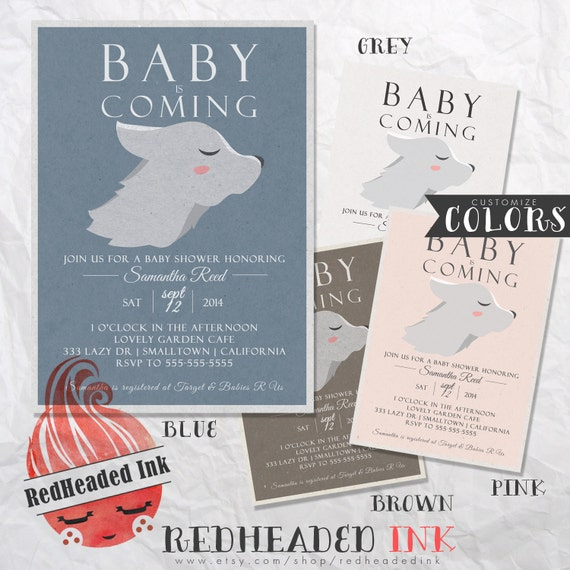 Game Of Thrones Baby Shower Invitation Etsy