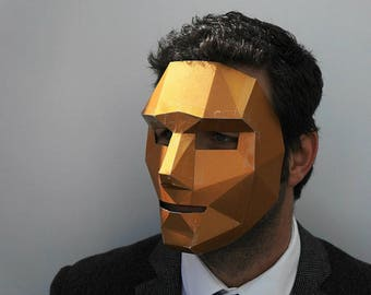 Polygon Face Mask make your own