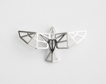 Sterling Silver Bird Pendant