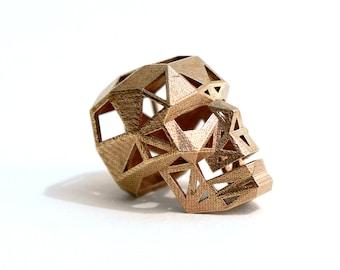 Bronze Skull Pendant