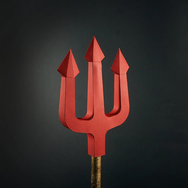 from recycled card to Satan/'s sidearm. Devil/'s Fork