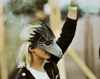 Bird or Raven Mask - Make your own Bird Mask