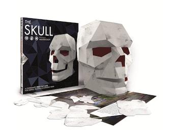 Skull Mask Book, Papercraft Activity