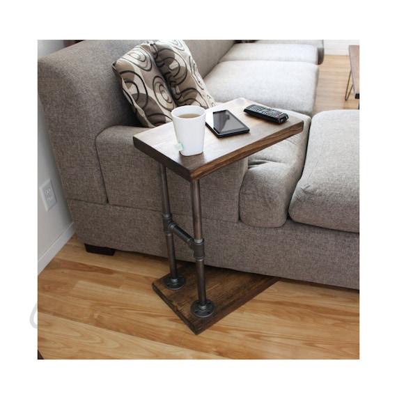 Industrial furniture table Desk Image Etsy Industrial Furniture Coffee Table Side Table Laptop Stand Etsy