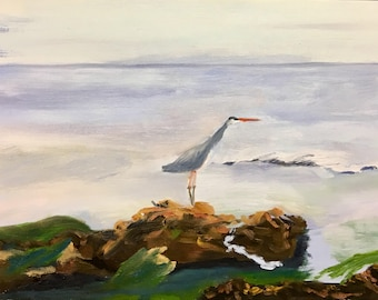 The Heron's Breakfast