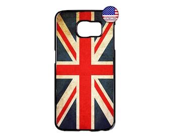 1dc7c2e82b Great Britain GB British Flag ENGLAND Hard Rubber Case Cover For Samsung  Galaxy s10 s10e s9 plus S8 S7 S6 Edge NOTE 9 8 Google Pixel 3 2 xl