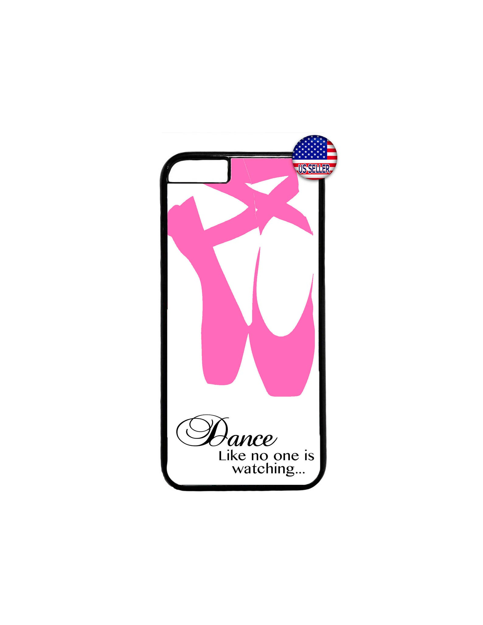 ballet ballerina dancer shoes hard rubber tpu slim case cover for iphone 8 7 6 6s plus x xs max 5 4 se ipod touch 4 5 6 7