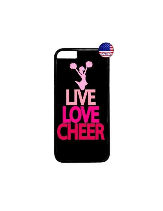 Cheerleader Cheer Pink Quote Black//White Hard Case Cover For Apple iPod 4 5 6