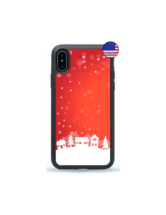Iphone 6 Plus Christmas Case.Snowflake Phone Case Xmas Cute Christmas Case Cover For Iphone 8 7 6 6s Plus X Xs Max 5 4 Se Ipod Touch 4 5 6 7